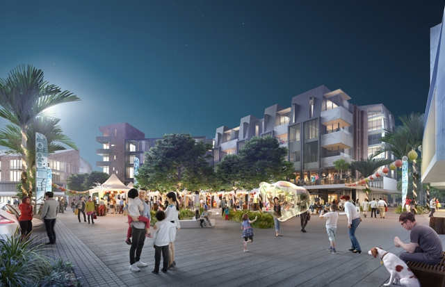 Northcote Town Square Render2 small