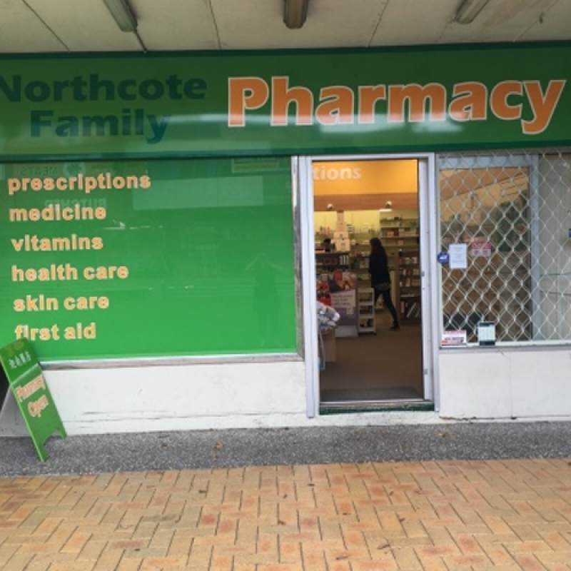 Northcote Pharmacy (Northcote 家庭药房)